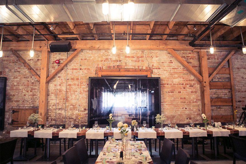 Real Weddings Archeo: Archeo Wedding Venue In Toronto. Morgan Falk Photography