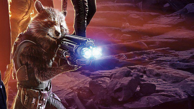 Avengers Infinity War Movie 2018 Rocket Raccoon 3840x2160 4k