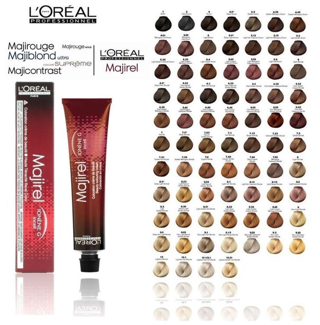 L Oreal Professional Majirel Majiblond Majirouge Hair Colour Loreal 50ml Ebay Fashion Marcas De Tintes Cabello Profesional Mejores Tintes De Cabello