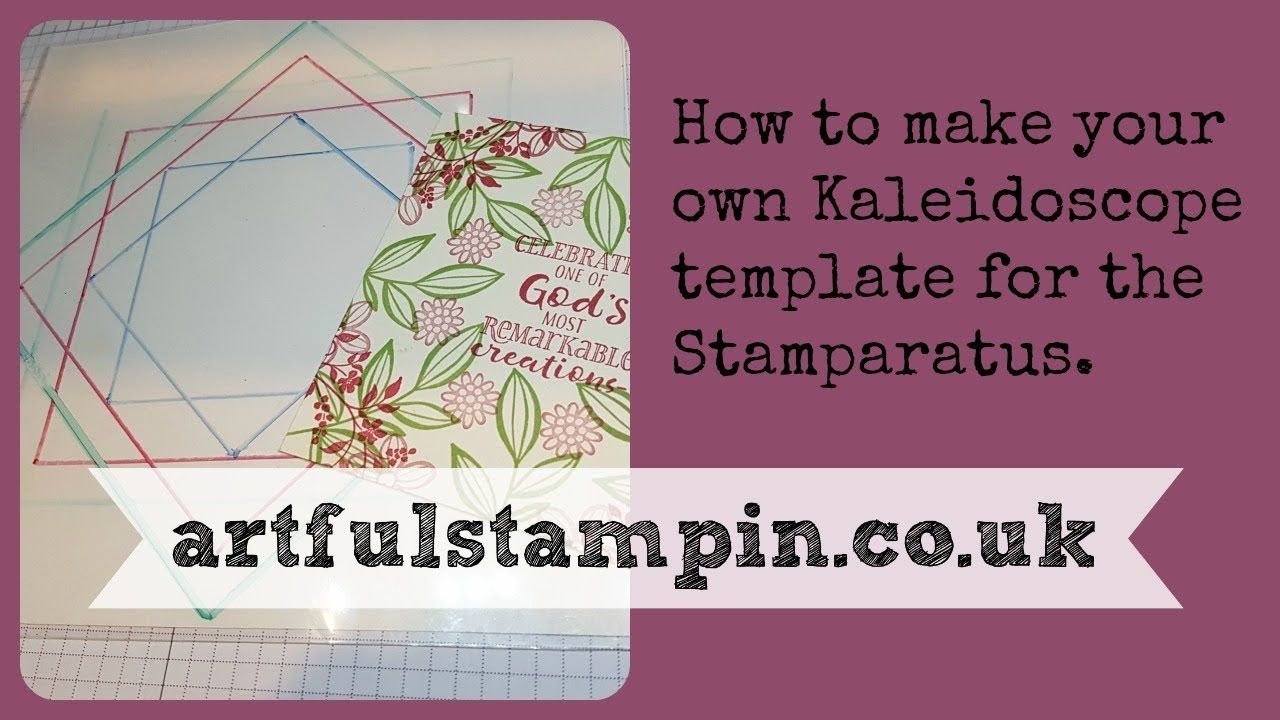 {Create kaleidoscope template for Stamparatus}