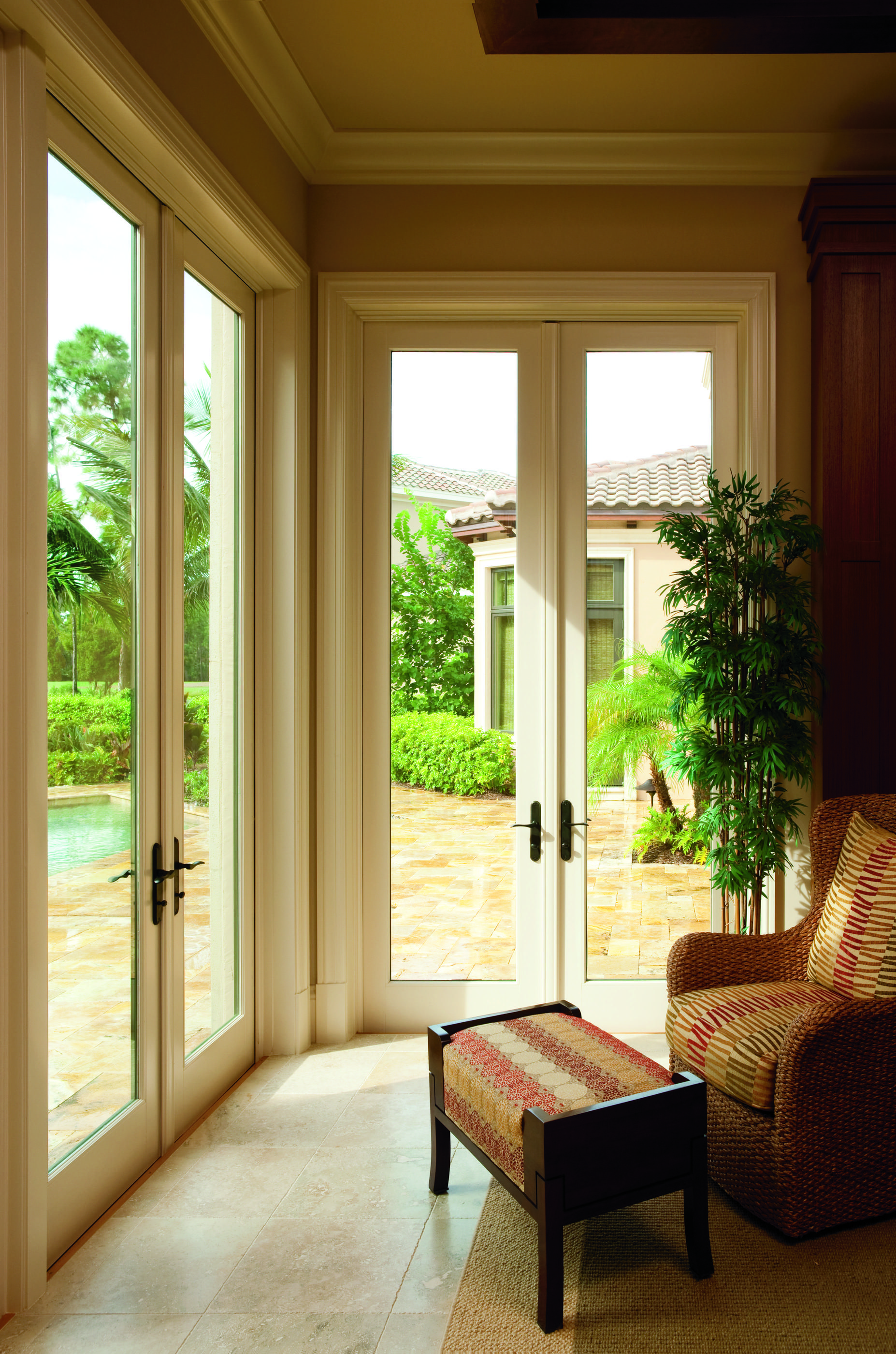 Enhance Your Homes Style With Pella Architect Series Hinged Patio