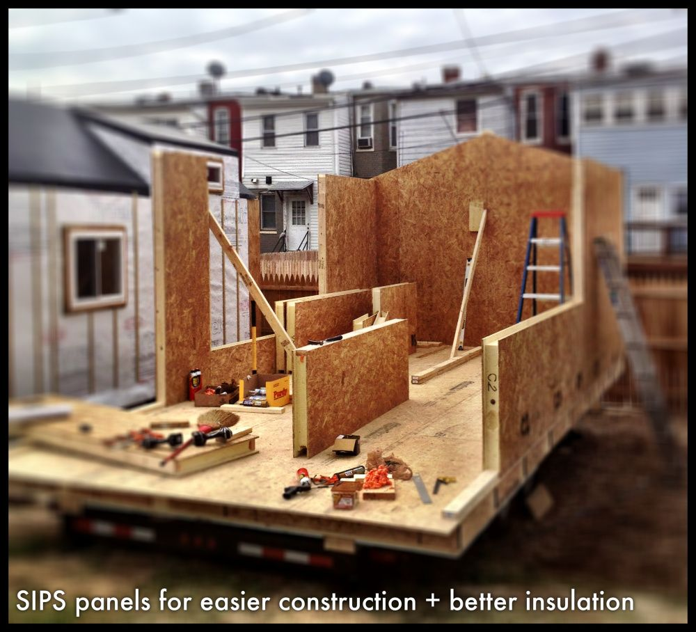 Sips Panels For Easier Construction Better Insulation Tiny House On Wheels Tiny House Trailer Building A Tiny House