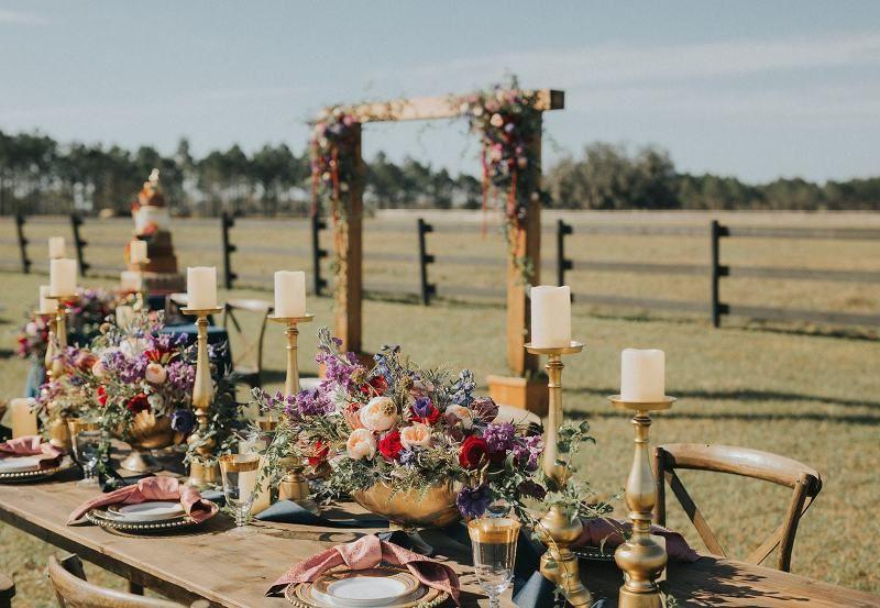 Heavenly Wedding At Heavenly Farms In Myakka City, Florida
