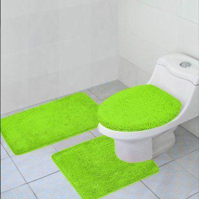 Alcott Hill Arata 3 Piece Bath Mat Set Color Contour Rug