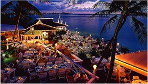 The Wharf Grand Cayman Feed The Tarpon While You Wait To