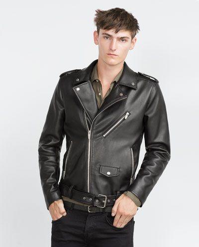 amp; Shoes Biker Menswear Clothing Zara Accessories Man Jacket I8Xxqyw4v