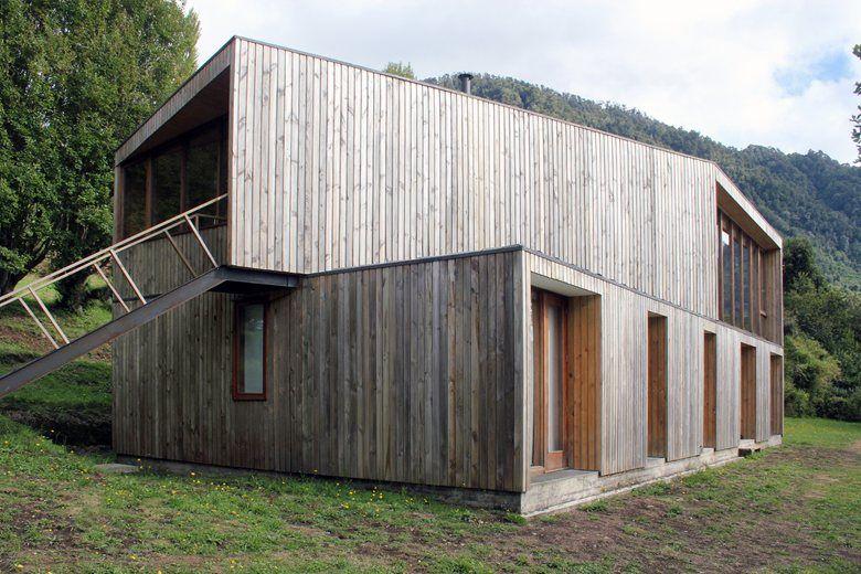 Casa Rupanco , Los Ríos Region, 2011 - Duval+Vives Architects #wood #landscape #house #architecture