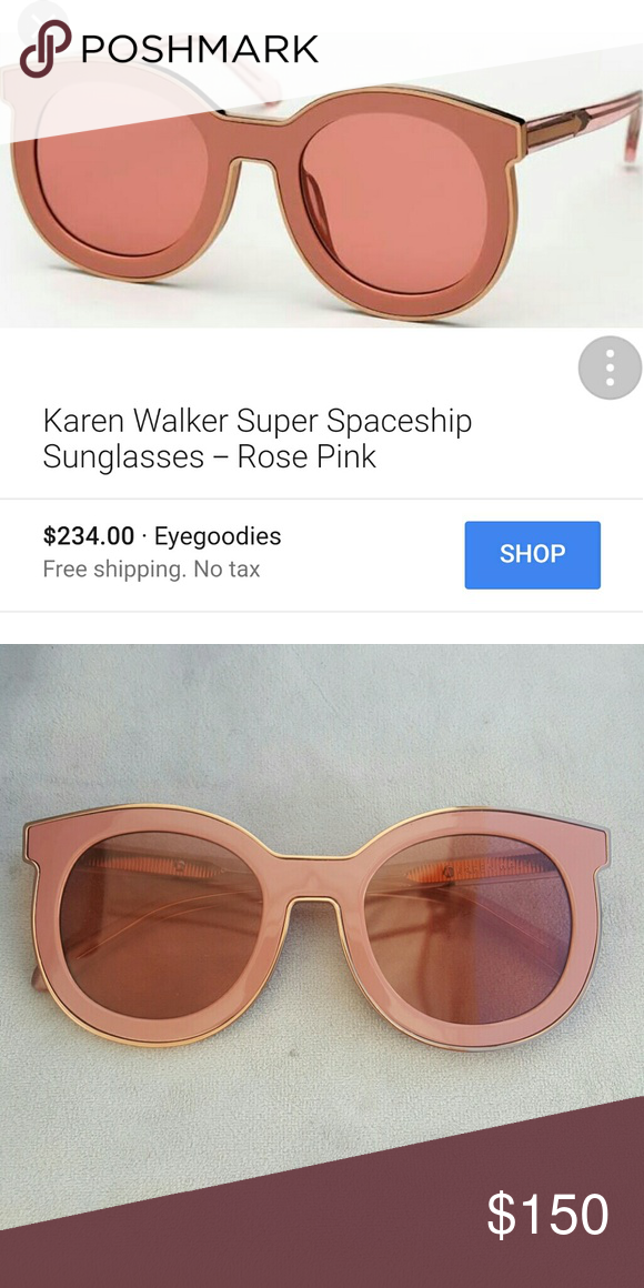 de72931d293 Karen walker super spaceship sunglasses Like new never used them I don t  have the box I paid full price Poshmark takes 20% 100 percent authentic  Karen ...
