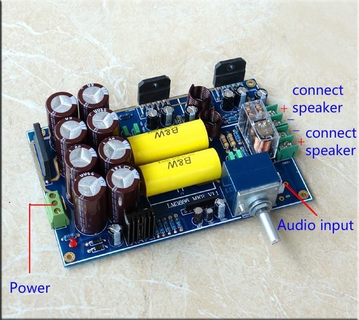 2PCS Dual Channel Stereo Class A 5W+5W Power Amplifier Module Board DIY Kits
