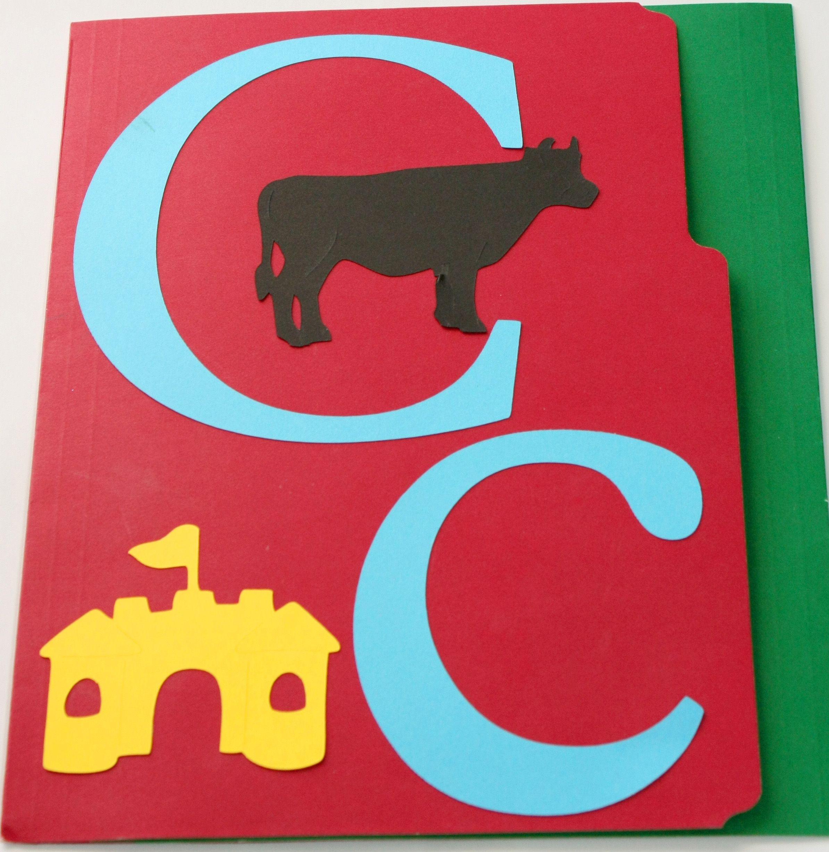 Letter C Lapbook