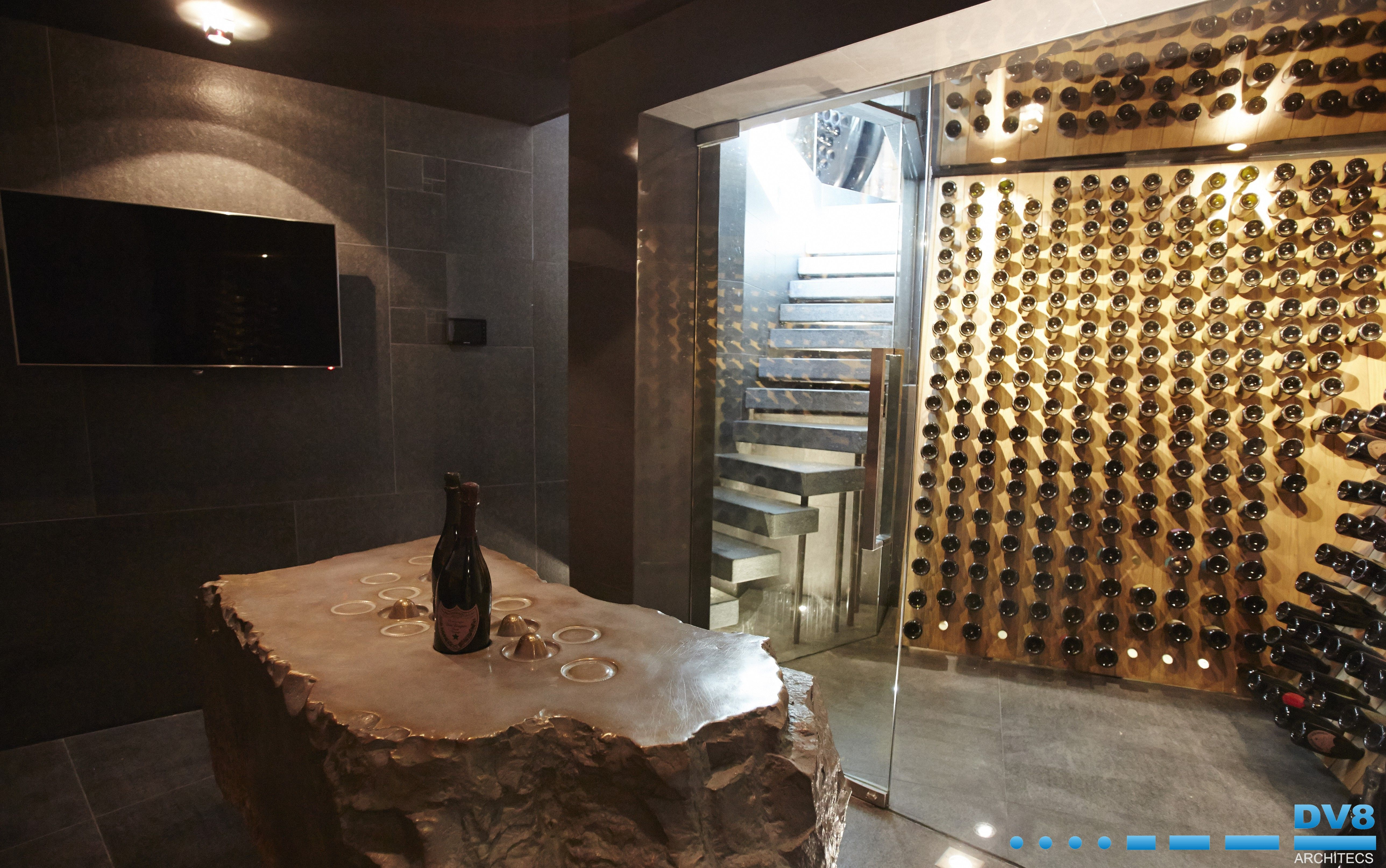 Ellerman House Wine Gallery Champagne Cellar Moet & Chandon Were