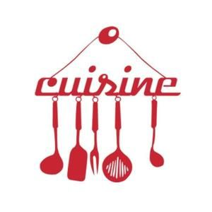 Stickers Rouge Creative Stickers Muraux Pour Cuisine Decor