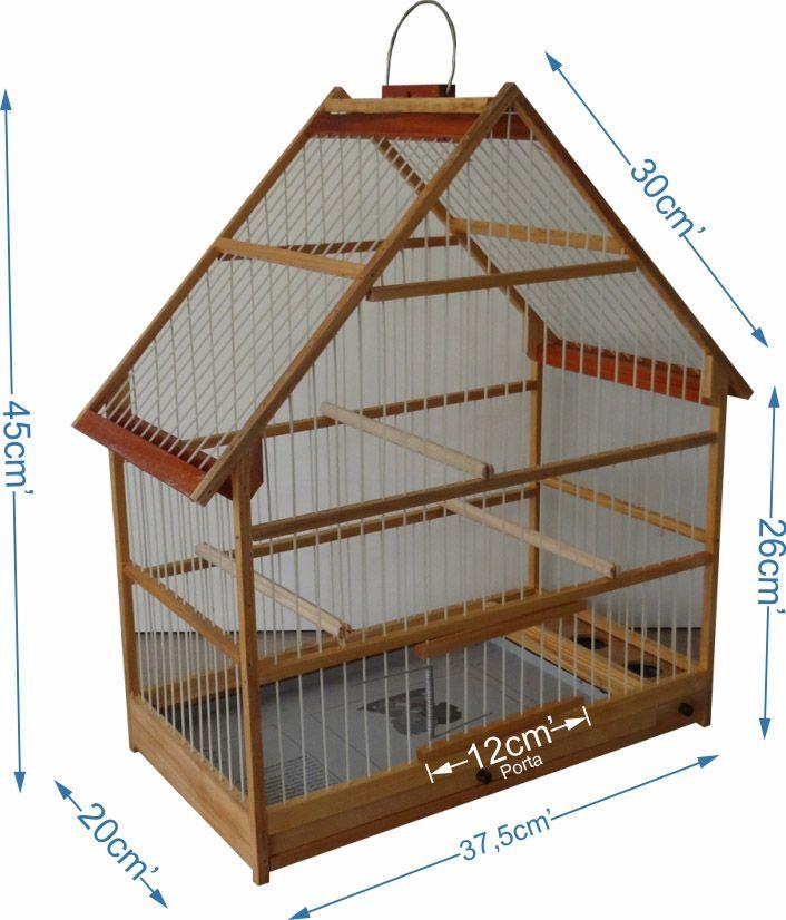 Resultado de imagem para gaiolas para passaros em madeira