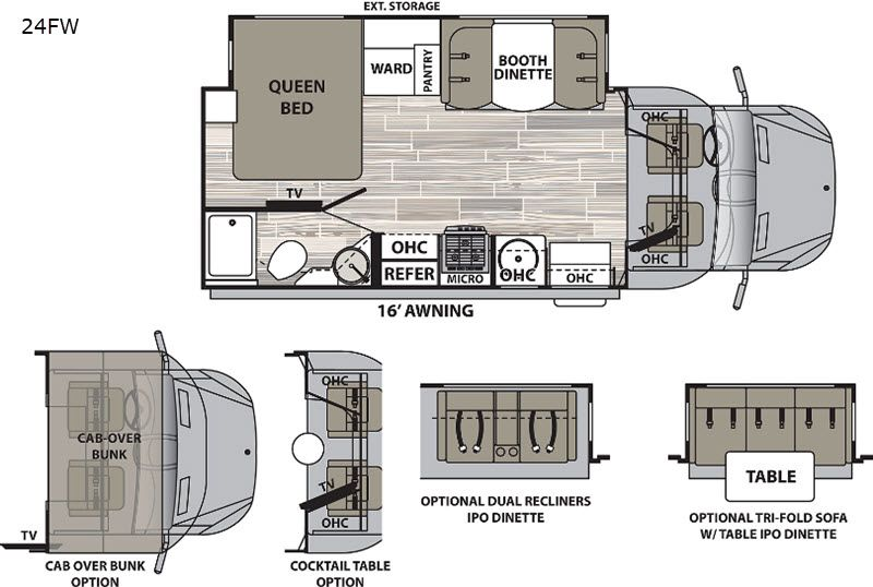 New 2020 Dynamax Isata 3 24fw Motor Home Class C Diesel At Van City Rv Las Vegas Nv 3043 In 2020 Motorhome Gmc Motorhome Double Door Refrigerator Size