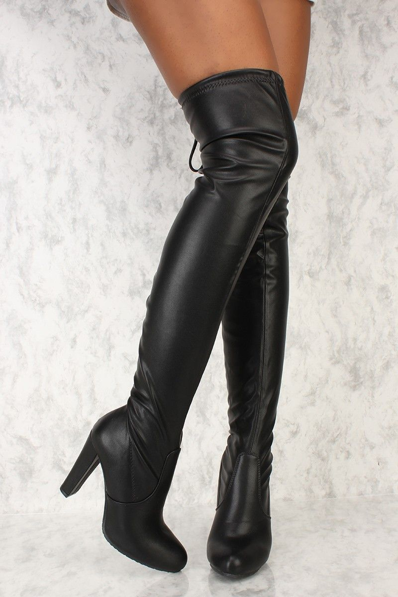 81b568085ab Stay in style with a pair of a AMI thigh high boots! These cuties are must  have. Features include