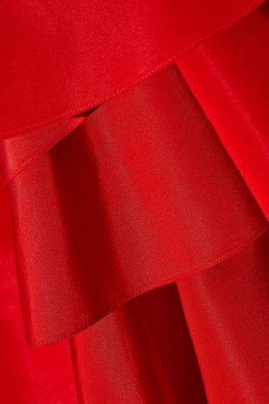 Rosie Assoulin   Bidi Bidi Bom Bom ruffled silk-faille gown   NET-A-PORTER.COM