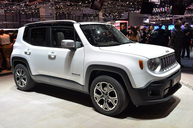 2015 Jeep Renegade brings the cute  Jeep renegade Jeeps and 2015