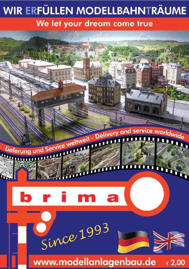 Titelblatt Broschüre neu Modelleisenbahn, Eisenbahn