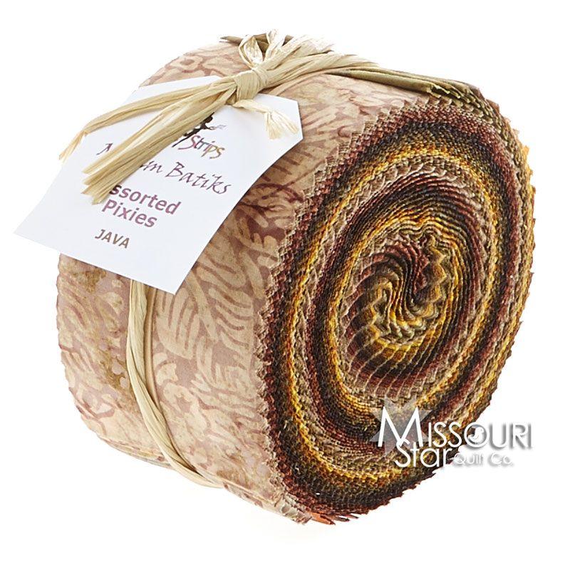 Malam Batiks Java Jelly Roll from Missouri Star Quilt Co