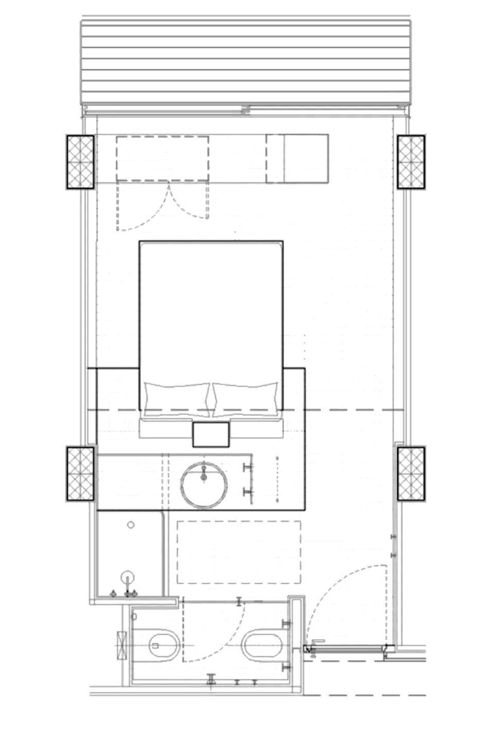 Hotel Room Plan: Radisson Blu Es. Hotel, Rome
