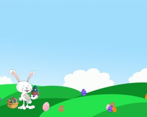 Easter Egg Hunt Ppt Template  As Easter Is Fast Approaching Many
