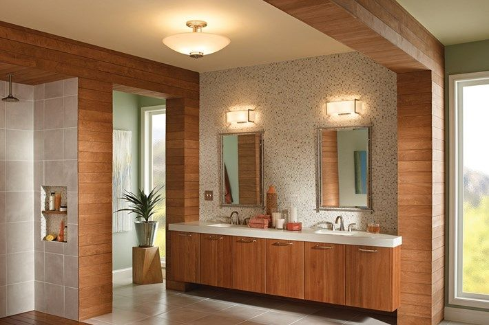 Bathroom Lighting Inspiration from Kichler | Crescent View Wall ...
