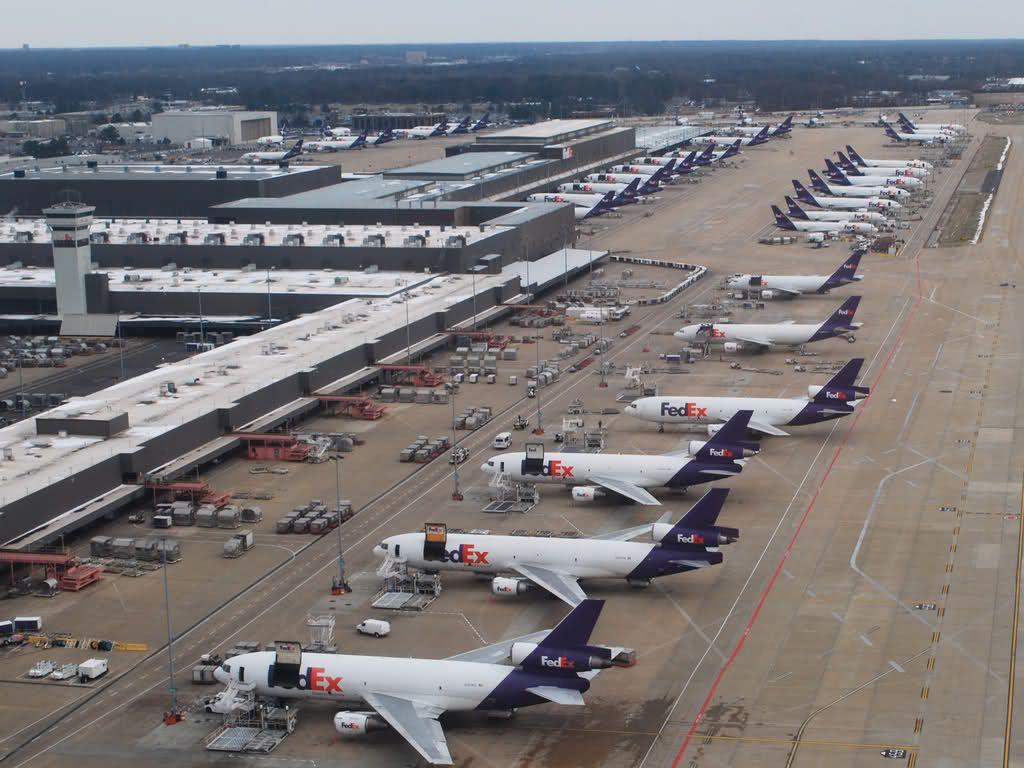 Global Logistics Media Top 10 FedEx Aviation Images