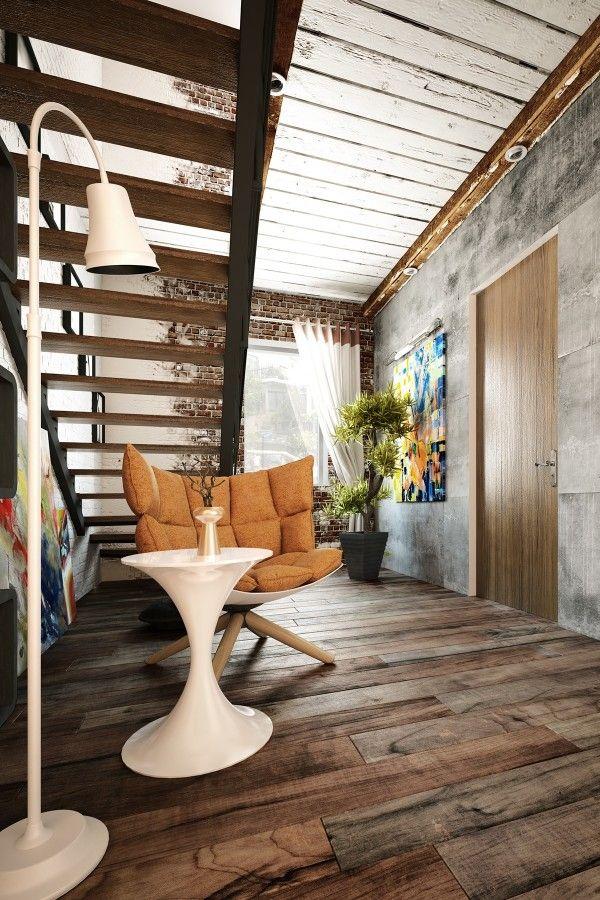 2 loft ideas for the creative artist
