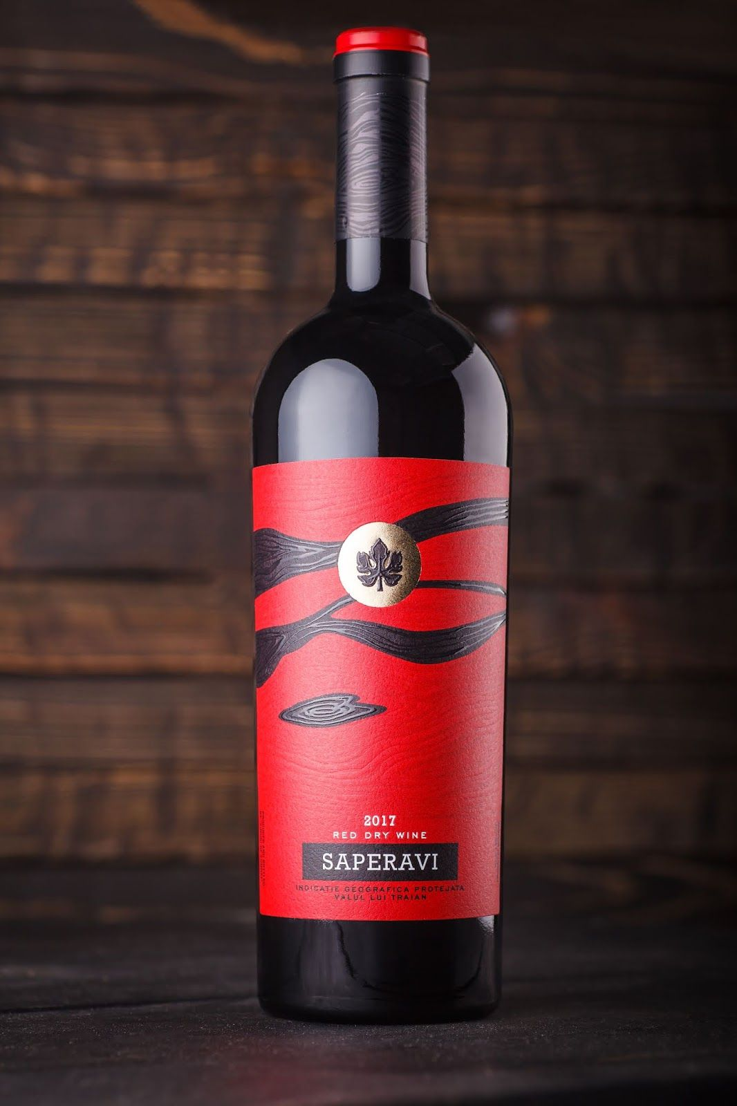 Red Saperavi Dry Wine Wine Bottle Wine Packaging