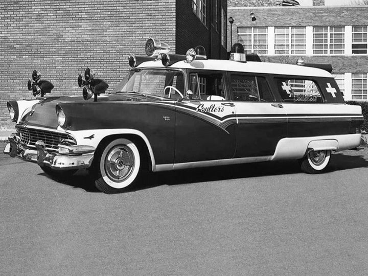 Built On A Slightly Extended Wheelbase 1956 Ford Chassis, This Conversion Was Done By The Memphis Coach Company
