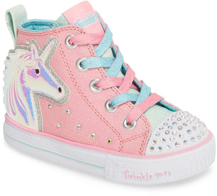 f0f2764b908 Skechers Twinkle Toes Unicorn Light-Up Sneaker | baby girl | Light ...