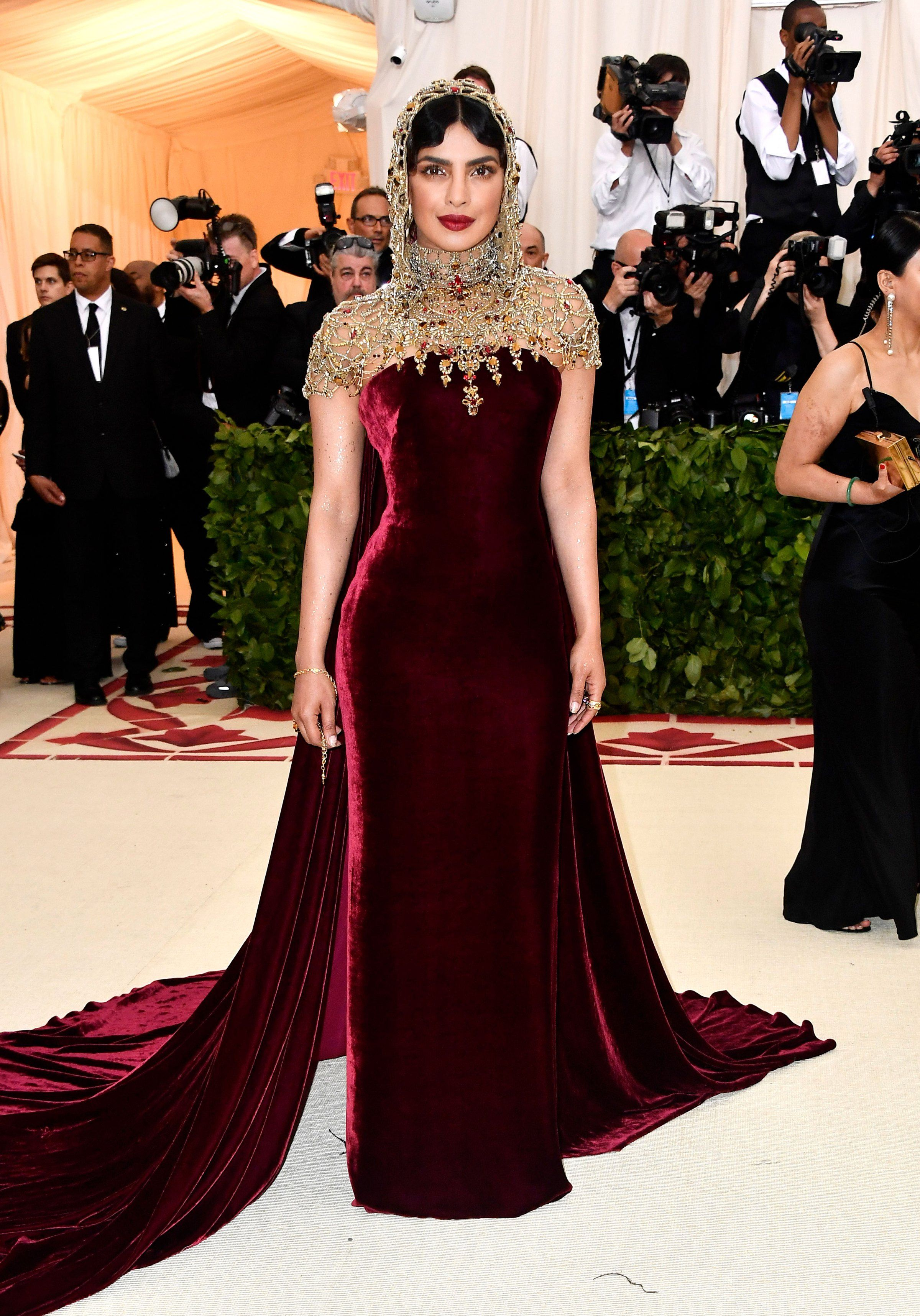 See what the stars wore to the met gala red carpet girl you