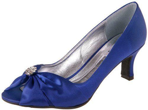 33e429ef62f Ladies widefit shoe - with small diamante trim  Amazon.co.uk  Shoes   Bags