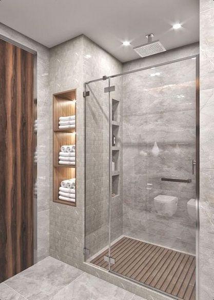 27 Original Modern Bathroom Decor Ideas In 2020 Small Bathroom Makeover Bathroom Remodel Designs Small Bathroom Remodel