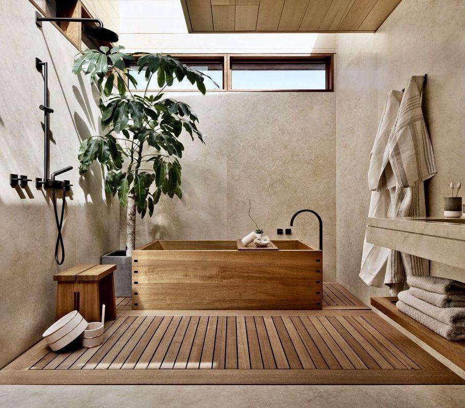 10 banheiras japonesas tradicionais do Pinterest p
