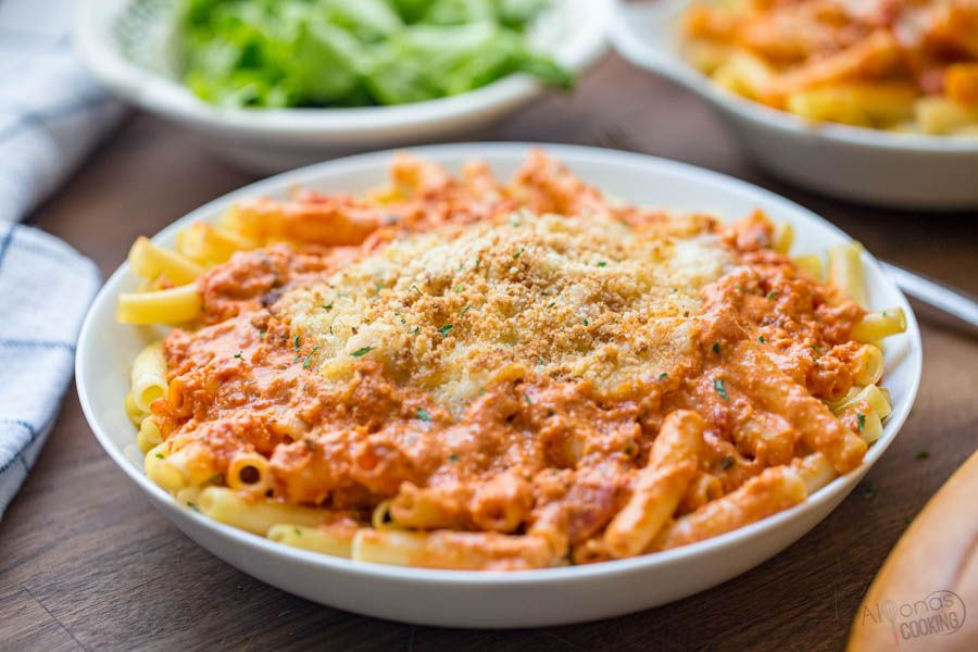 Olive Garden Five Cheese Ziti al Forno copycat recipe made