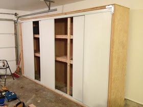 Anthony Valentino Diy Garage Storage With Sliding Doors Garage