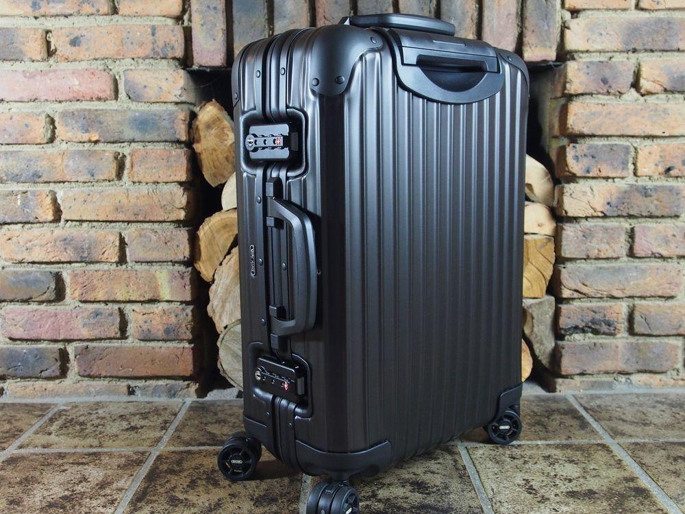 Rimowa Topas Suitcase: Luggage Review - He Spoke Style
