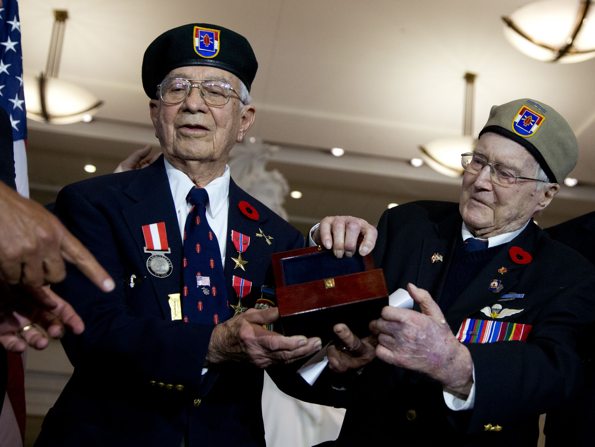 """In 1942, they were lumberjacks, miners, hunters and farmers from the United States and Canada, who came together at a U.S. Army base in Montana. Within a few months, they were well-trained warriors nicknamed """"The Devil's Brigade""""."""