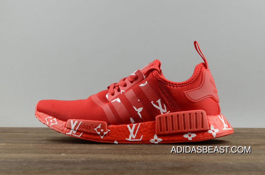 Adidas Originals Nmd X Lv Red Men S And Women S Running Shoes