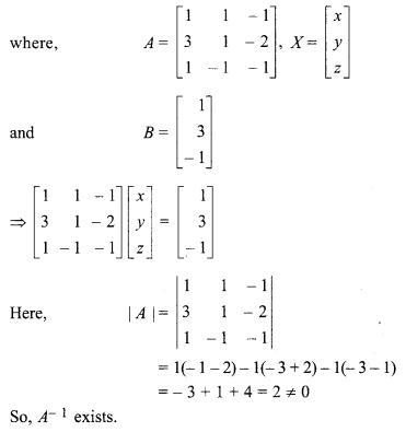 For Class 12 Maths Chapter 5 Inverse Of A Matrix And Linear Equations Ex 5 2 With Images Class 12 Maths 12th Maths Linear Equations