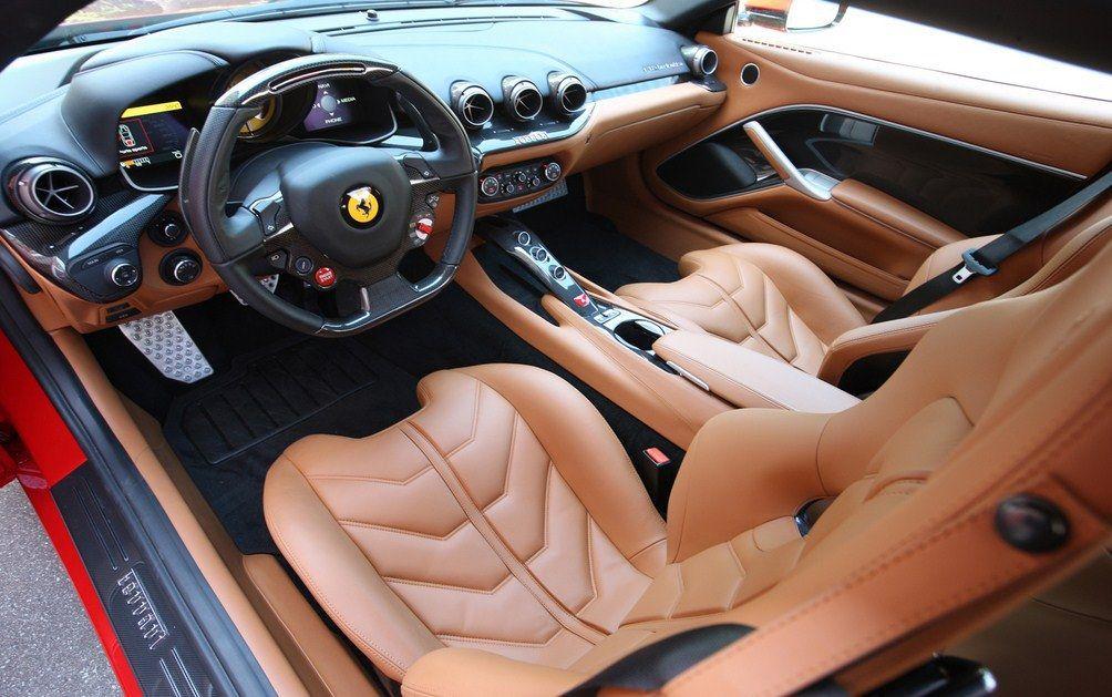 Ferrari F12 TRS interior