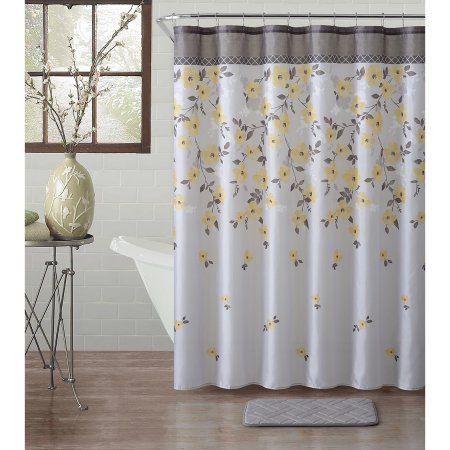 Home Shower Curtain Sets Bath Decor Curtain Accessories