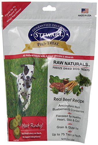 Pro Treat Raw Naturals By Stewart 4 Oz Dog Treats Beef Read More At The Image Link This Is An Freeze Dried Dog Treats Dog Food Recipes Dried Beef Recipes