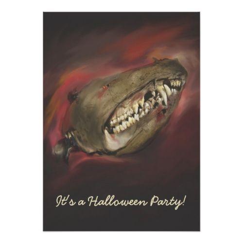 Monster Skull Halloween Card 2017 Halloween Ideas Pinterest