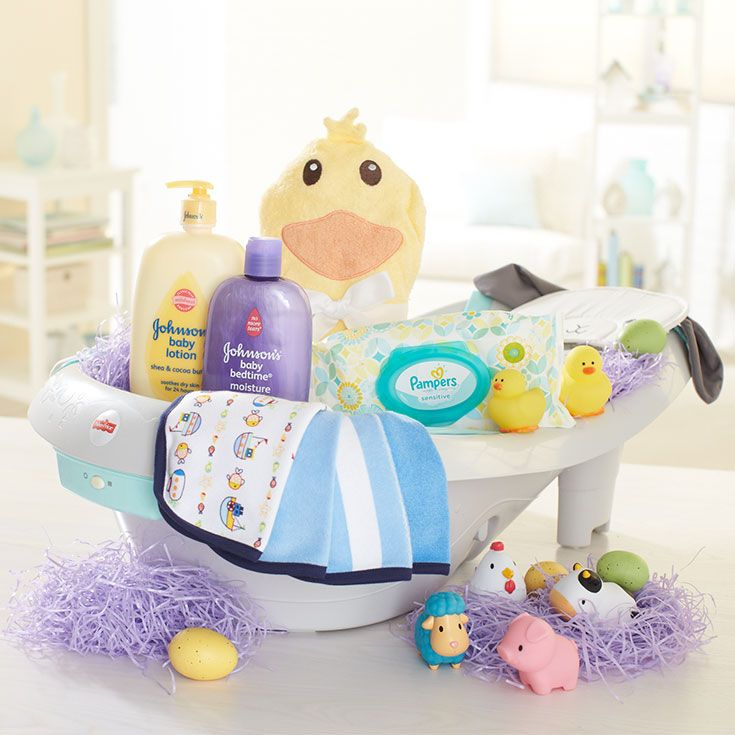 Celebrate your babys first easter with this cute twist on a celebrate your babys first easter with this cute twist on a traditional basket brueaster negle Images
