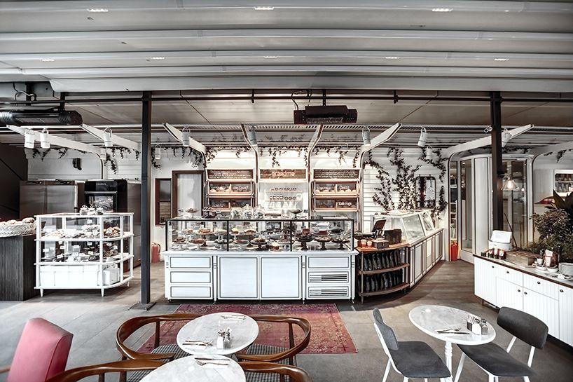 Zemberek S Design For Grandma Bakery Cafe In Istanbul Bakery Cafe Grandma S Bakery Bakery Interior