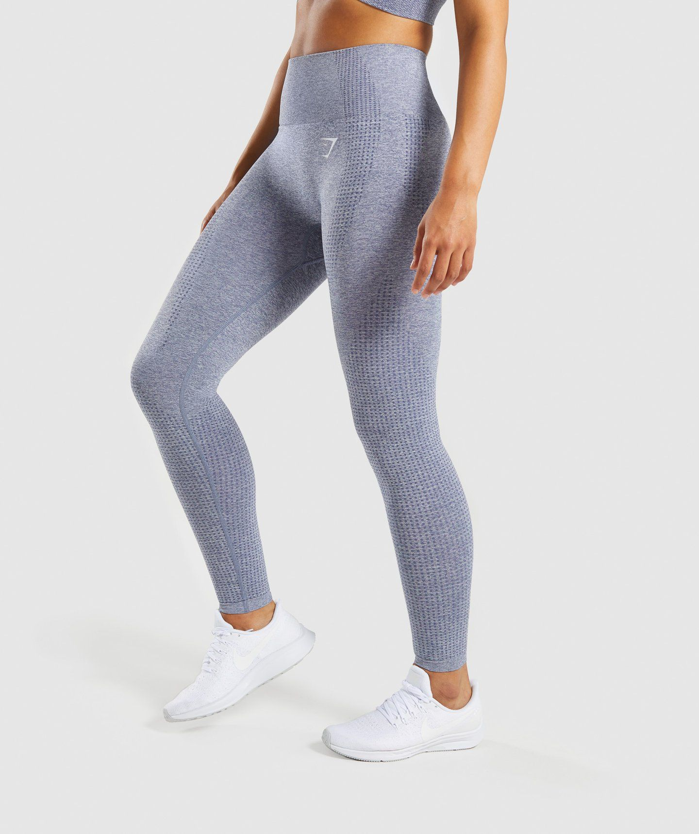 aa9bd2a7e5e1f0 Gymshark Vital Seamless Leggings - Steel Blue Marl in 2019 | Clothes ...