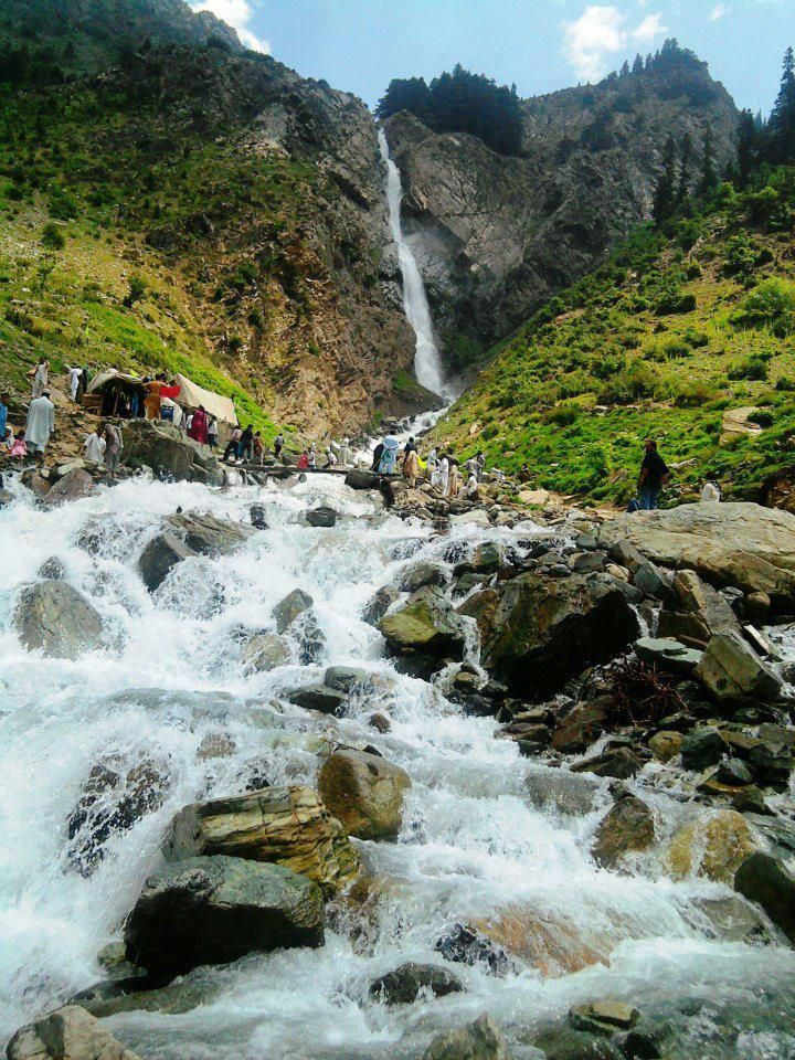 Waterfal Enroute Mohodand Lake With Images Beautiful