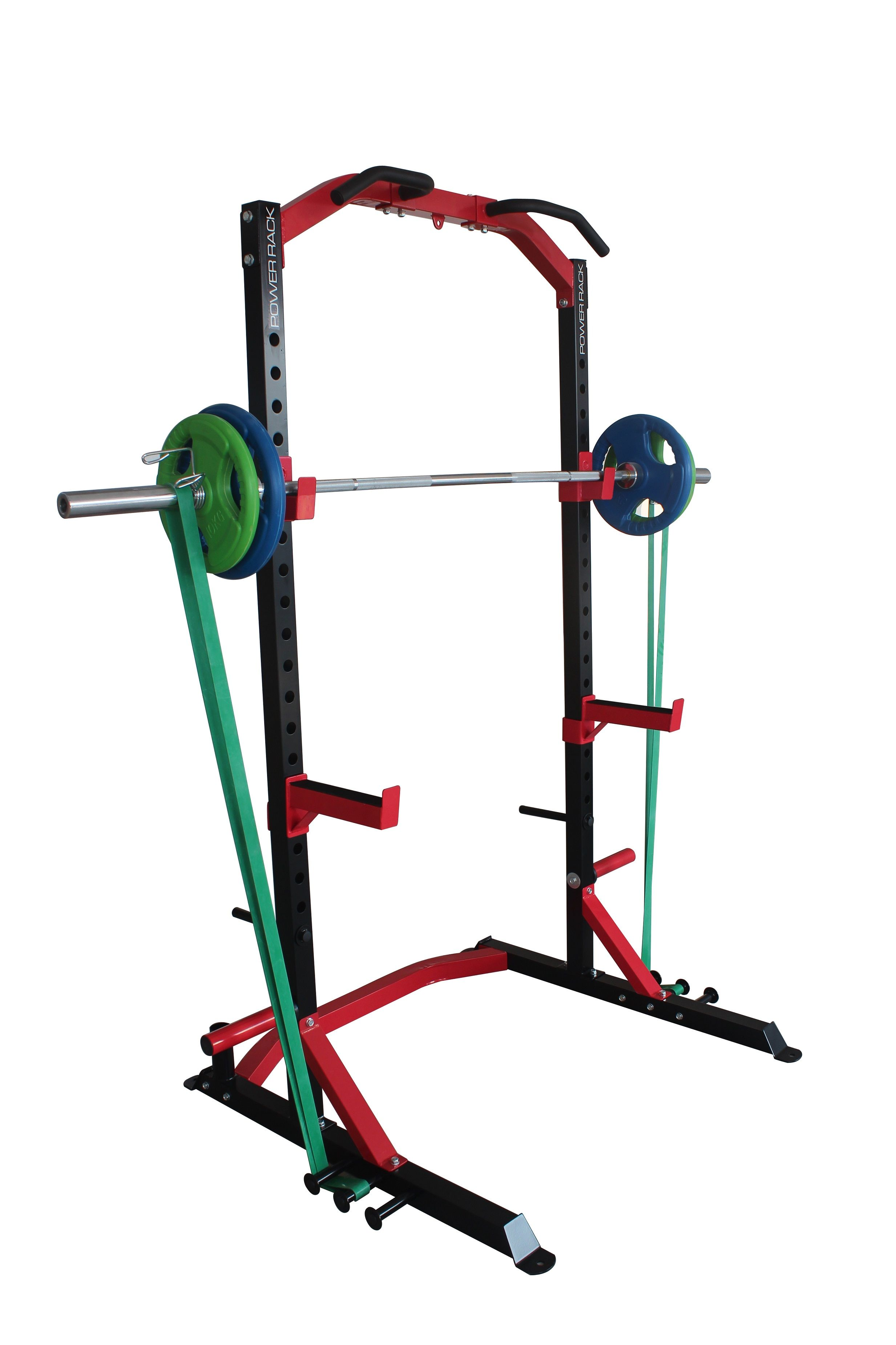 barbell cable photos power over attachment lat storage rack cross packages trojan index barbells cage